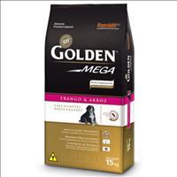 Ração Premier Golden Mega Cães Filhotes Raças Grandes Frango e Arroz - 15kg