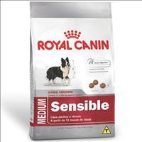 Ração Royal Canin Medium Sensible para Cães Adultos ou Idosos Sensíveis de Raças Médias - 15 Kg