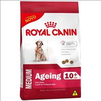 Ração Royal Canin Medium Ageing 10 + para Cães Idosos de Raças Médias com 10 Anos ou mais - 3 Kg