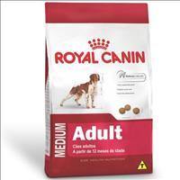 Ração Royal Canin Medium Adult para Cães Adultos de Raças Médias a partir de 12 Meses de Idade Ração