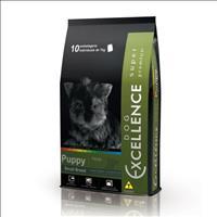 Ração Selecta Dog Excellence Super Premium para Cães filhotes de Raças Pequenas - Frango e Arroz Raç