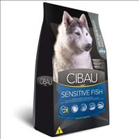 Ração Farmina Cibau Sensitive Fish para Cães Adultos de Raças Médias e Grandes - 12kg