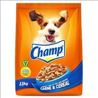 Ração Champ Carne e Cereais - 15kg