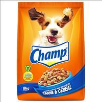 Ração Champ Carne e Cereais - 8kg