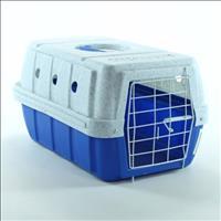 Caixa de Transporte Clicknew - Azul com Mármore Caixa de Transporte Clicknew Azul com Mármore - N. 0