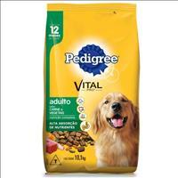 Ração Pedigree Carne e Vegetais para Cães Adultos a partir de 12 Meses de Idade - 10,1kg