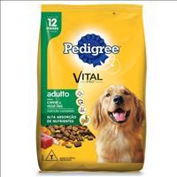 Ração Pedigree Carne e Vegetais para Cães Adultos a partir de 12 Meses de Idade - 20kg
