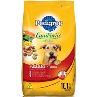 Ração Pedigree Equilíbrio Natural para Cães Adultos com mais de 7 Anos - 10,1kg