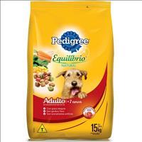 Ração Pedigree Equilíbrio Natural para Cães Adultos com mais de 7 Anos - 15kg
