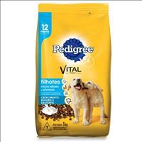 Ração Pedigree Junior para Cães Filhotes de Raças Médias e Grandes - 1kg