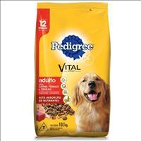 Ração Pedigree Carne, Frango e Cereais para Cães Adultos a partir de 12 Meses de Idade - 10,1kg