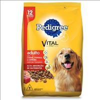 Ração Pedigree Carne, Frango e Cereais para Cães Adultos a partir de 12 Meses de Idade - 20kg