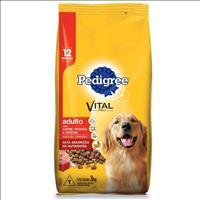 Ração Pedigree Carne, Frango e Cereais para Cães Adultos a partir de 12 Meses de Idade - 3kg