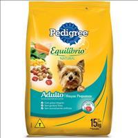Ração Pedigree Equilíbrio Natural para Cães Adultos de Raças Pequenas - 15kg