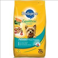 Ração Pedigree Equilíbrio Natural para Cães Adultos de Raças Pequenas - 20kg