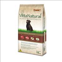 Ração Premier Vitta Natural Cães Adultos Carne e Arroz - 15 Kg