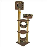 Brinquedo Arranhador Kitty Tower com Cesta