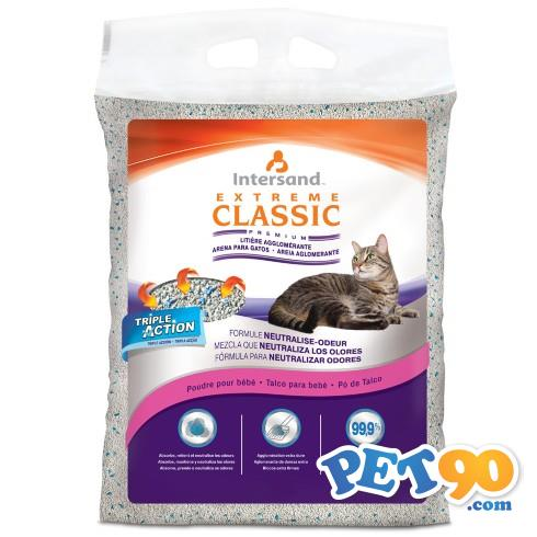 Areia Sanitária Baby Powder Extreme Classic Areia Sanitária Perfume de Talco Baby Powder Extreme Cla