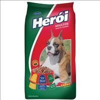 Ração Guabi Herói Carne para Cães Adultos Ração Guabi Herói Carne e Cereais para Cães Adultos - 1 Kg