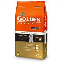 Ração Premier Golden Formula Mini Bits Salmão e Arroz para Cães Adultos de Raças Pequenas - 10 Kg