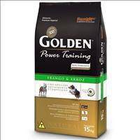 Ração Premier Golden Power Training Cães Adultos Frango e Arroz - 15kg