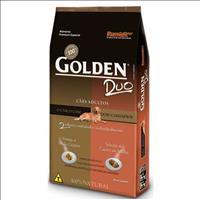 Ração Premier Golden DUO Cães Adultos Frango à Moda Caipira e Seleção de Carnes ao Molho - 15kg