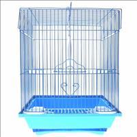 Gaiola para Pássaros Modelo 03 Quadrada Caninos Brancos Gaiola para Passaros Modelo 03 Quadrada Cani