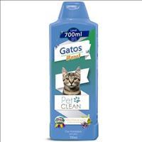 Shampoo e Condicionador Pet Clean 2 em 1 para Gatos - 700 mL
