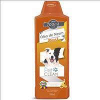 Shampoo e Condicionador Pet Clean 2 em 1 Óleo de Neem - 700ml