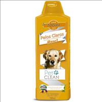 Shampoo e Condicionador Pet Clean 2 em 1 Pelos Claros - 700ml
