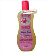 Shampoo Condicionador Cães e Gatos  com Lanolina Santa Maria - 500ml