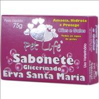 Sabonete Pet Life Neutro Sabonete Pet Life Erva Santa Maria - 75gr