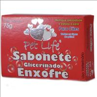 Sabonete Pet Life Neutro Sabonete Pet Life Enxofre - 75gr
