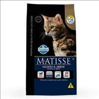 Ração Farmina Matisse Salmão e Arroz para Gatos Adultos - 7,5kg