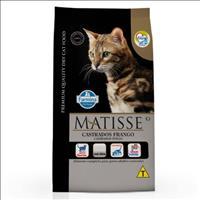 Ração Farmina Matisse Frango para Gatos Adultos Castrados - 7,5kg
