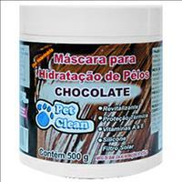 Mascara de Hidratação Pet Clean Chocolate - 500gr