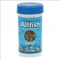 Ração Allfish Basic - 20gr