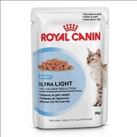 Ração Royal Canin Sachê Feline Ultra Light para Gatos Adultos - 85 g