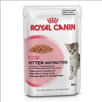 Ração Royal Canin Sachê Feline Kitten Instinctive para Gatos Filhotes com ate 12 meses - 85 g
