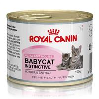 Ração Royal Canin Lata Baby Cat Instinctive para Gatos Filhotes - 195 g