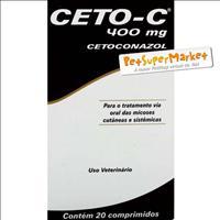 Ceto-C 400mg - 20 comprimidos