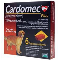 Cardomec Plus Marrom Cães acima de 22kg - 6 tabletes