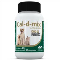 Suplemento Vetnil Cal-D-Mix Frasco - 30 comprimidos