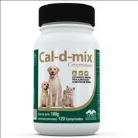 Suplemento Vetnil Cal-D-Mix Frasco - 120 comprimidos