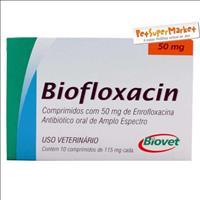 Biofloxacin 50mg - 10 comprimidos