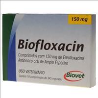 Biofloxacin 150mg - 10 comprimidos