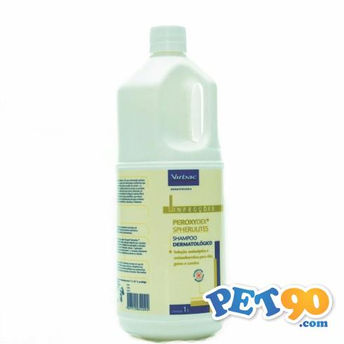 Shampoo Dermatólogico Virbac Peroxydex Spherulites - 1 Litro