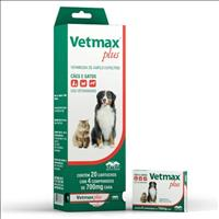 Vermífugo Vetnil Vetmax Plus 700mg - 4 Comprimidos