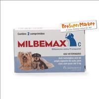 Milbemax C para Cães até 5 kg - 2 Comprimidos