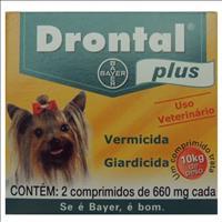 Vermífugo Drontal Plus Cães - 2 Comprimidos